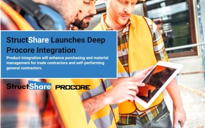 StructShare Launches Deep Procore Integration to Support Subcontractors