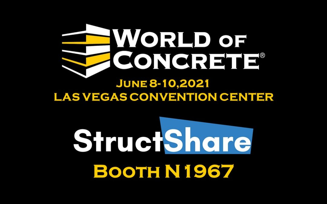 World of Concrete is back and StructShare will be there.